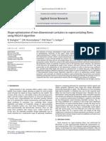 Shape optimization of two-dimensional cavitators in supercavitating flows, using NSGA II algorithm