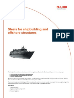 Steels for Shipbuilding and Offshore Structures