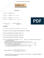 Important Formulae_for Website_for CAT2012 Students
