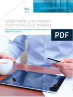 Global Trends in the Payment Card Industry 2012 Acquirers