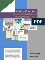 Aviation Carbon Footprint