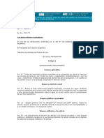 Ley de Navegacion 20094