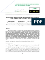 Optimization of Process Parameters in Drilling of Aisi 1015 Steel for Exit Burr u