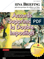 Accords supprimant la Double Imposition (CB 2012/09)