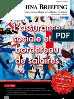 L'assurance sociale et le bordereau de salaires (CB 2012/10)