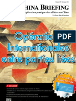 Operations Internationales entre parties liees (CB 2012/11)