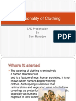 Functionality of Clothing