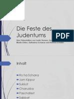 Die Feste Des Judentums