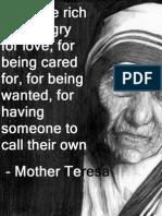 """मदर टेरेसा और उनके उत्तराधिकारियों का """"मिशन"""""""