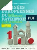 Programme JEP 2013 - Nièvre