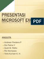 Presentasi Microsoft Excell