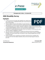 Disability Survey 2006