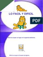 92-Lo Fácil y lo Difícil.