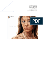 Photoshop Tutorial - Cracked Girl