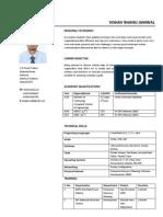 CV Vishav Bhanu Jamwal