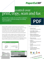 Midshire Business Systems - Paper Cut MF - Software Solutions Brochure