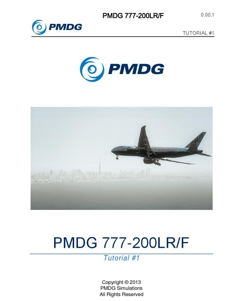 PMDG 777 Tutorial 1 | Copyright | Takeoff
