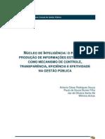Núcleo de Inteligência - O papel da produção de informações