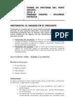 2da Presentación - Trabajo de Historia del Perú