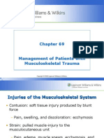Chapt69-Mgt Pt's Musculoskeletal Trauma