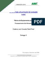 VENEZUELA-E5 Caderno Conceito Fabril Final Alimentos