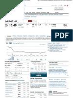 Ind Swift Company Profile