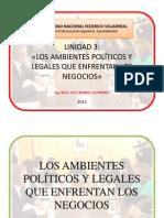 4ta clase- Los Ambientes Políticos y Legales-Agroindustrial.