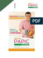 Vicente Papic Arce-Estudio Gestión Congreso Diputado Javier Hernández Hernández -Primer Informe