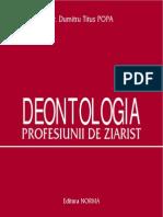 Etica si Deontologia Presei