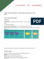 Appunti di scienze (classe seconda)