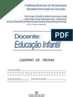 educaçao infantil-avaliação e seleção