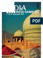 Programme - INDIA WEEK Hamburg (7th - 15th September 2013)
