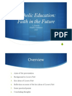 Faith in the Future (CHAPS 2013)
