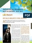 Kenya Psychosocial Disability May 2013 Edition Newsletter