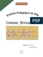projeto pedagógico de sala de aula de educação infantil