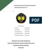 Laporan Tugas Praktikum Arsitektur Dan Organisasi Komputer