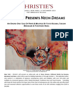 Christie's New York Presents Neon Dreams Online-Only Sale, 17 September - 1 Octobe