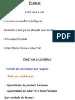 CD - CINÉTICA ENZIMÁTICA