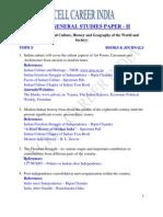 CSE Mains 2013 General Studies Paper II