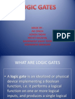 Logic Gates Ppt