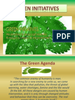 Green Initiatives!!! Prem