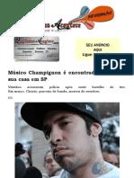 Músico Champignon é encontrado morto em sua casa em SP