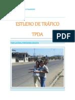 ESTUDIO DE TRÁFICO                                TPDA