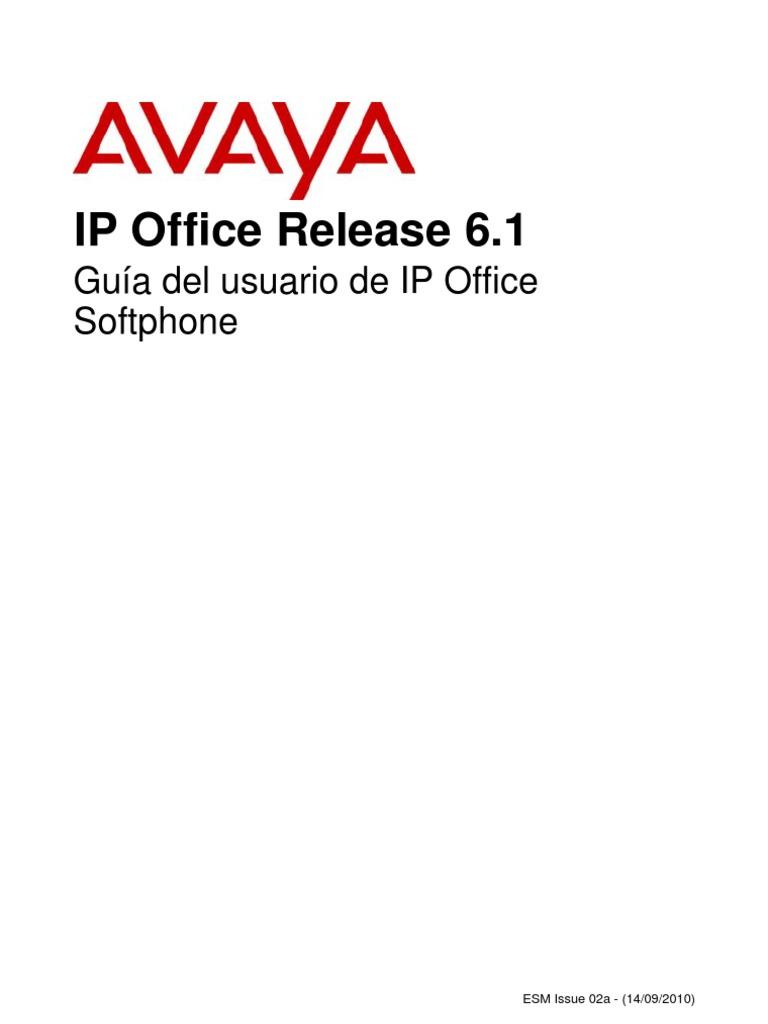 Avaya IP Office Release 6.1 Guia de Usuario Ip Office