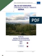 (MANUAL) SISTEMA DE INDICADORES AMBIENTALES DE HONDURAS.pdf