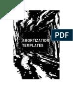 AMORTIZATION TEMPLATES
