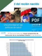Salud Recien Nacido Prioridad Politicas Salud