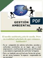 Presentación GESTION AMBIENTAL