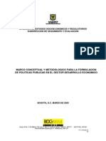 Documento Formulación Políticas Públicas