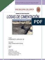 LOSAS DE CIMENTACIÓN